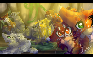 ThunderClan Selfie (Warrior Cats) by WarriorCat3042