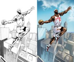 Lebron James by JavierMena