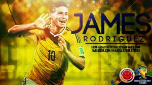 James Rodriguez WC2014 by HkM-GraphicStudio