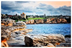 Coogee at morning by catchaca1
