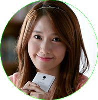 YOONA SNSD [CIRCLE PNG] by PowerBerry10