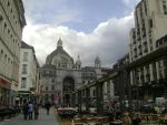 The street leading to Antwerpen Centraal Station by TammuzAsmodeus