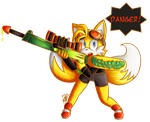 Tails the Sniper by KthTheArtist