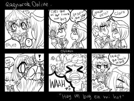 Ragnarok comic - Bugged Hat by Obliquo