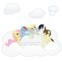 The Lunch Table by FoxTail8000