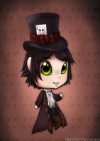 Oliver the Illusionist by MsWetFeather