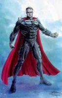 Tim Burton Superman 2 by RobertTheComicWriter