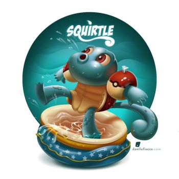 Squirtle! by DaniloFiocco