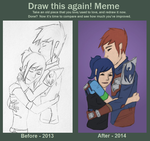 Draw This Again. by DelpheneLightfoot