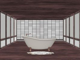 Tub Room by mysticmorning