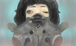 Gas Mask by moondrop1XD