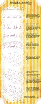 Easy folds tutorial 1# by Goay