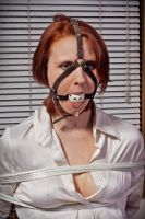 the longer she's gagged.... by dungeonguy59