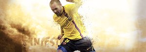 Andres Iniesta by GersonDesign