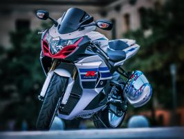 Suzuki GSX-R by ScottJWyatt