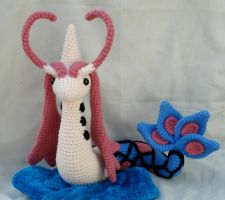 milotic amigurumi by TheArtisansNook