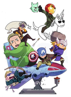 Hetalia - AVENGERS ASSEMBLE! by s2pd