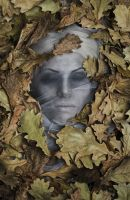 Somewhere under the oak leaves by Elena-NeriumOleander