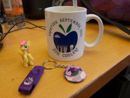 BroNYCon Sept 2011 merch by purpletinker