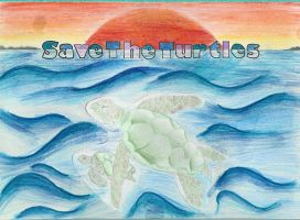 Save The Turtles by Silver-Dew-Drop