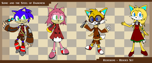 Sonic and the Steel of Darkness - Heroes Redesign by JamesTechno998