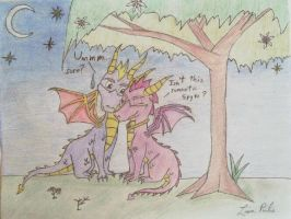 Spyro and Ember by lisapulis