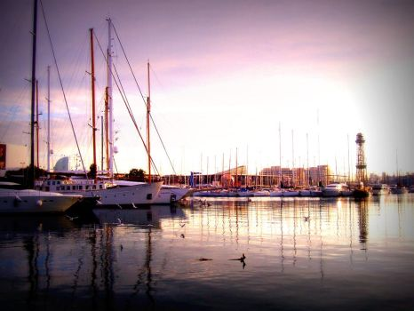 Barceloneta by FunnyPoison