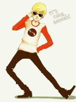 Homestuck: Dave Strider by DecemberComes