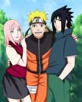 Team 7 again! by YameGero