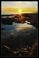 Reddell sunset reflections 2 by wildplaces
