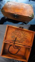 Supernatural Inspired Protective Box by Snuffles379