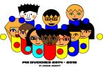 Mii Buddies 2014 - 2015 by KStarboy