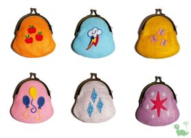 Cutie Mark Coin Purses! by CuteTherapy
