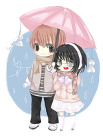 Chibi_Couple by Hyeong59