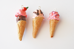 ice cream charms by likegiselle