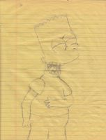 1999 Bart Drawing by simpspin