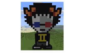 Sollux:minecraft by little-devil-soul