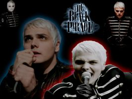 Gerard wallpaper: Black Parade by CrazyCrocuta