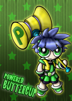 Powered Buttercup by Aggiepuff