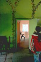 If Edward Hopper Visited Queen Charlotte's Cottage by aegiandyad