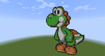 AT: Yoshi!! :D by Lemmy-koopaling