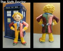 Clay Sixth Doctor by vandonovan