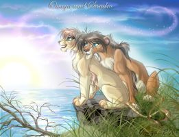 Sandro and Omega again by OmegaLioness