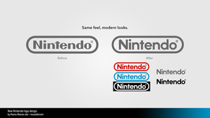 New Nintendo logo design by moozdeviant