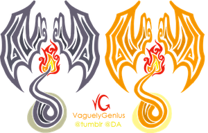 Tribalish Charizard - Be the dragon! by vaguelygenius