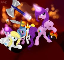 The war of the brony's by thedutchbrony