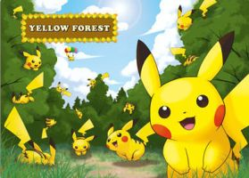 Yellow Forest by Shaman13