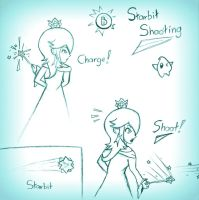 Rosalina Moveset 1 by BridgeShislett
