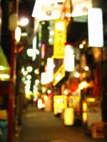 Drink Alley in Tokyo, Shinjuku by theblindalley