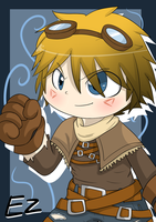 Ezreal, the prodigal explorer. by Caramelcat123